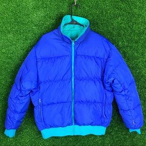 Columbia Radial Sleeve Reversible Puffer Jacket